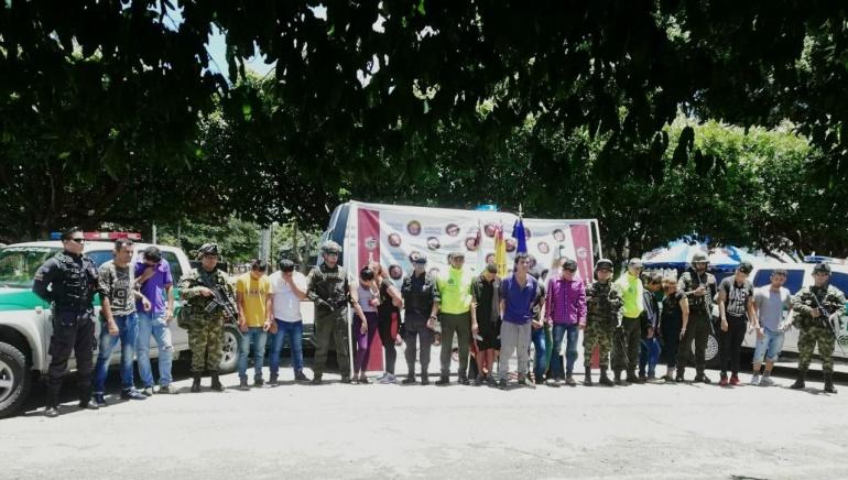 Narcotráfico: 2 mujeres lideraban banda de micratráfico que deja 15 capturados en Arauca