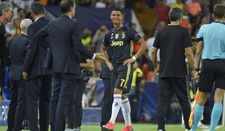Cristiano Ronaldo expulsión: Murillo provocó primera expulsión de Cristiano en Champions League