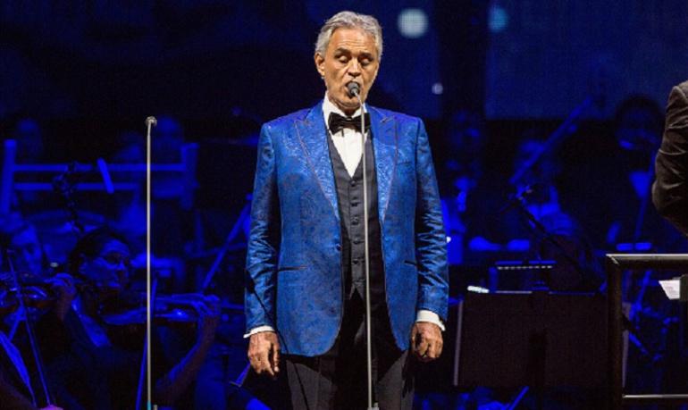 Andrea Bocelli cantará con Ed Sheeran y Dua Lipa en nuevo disco