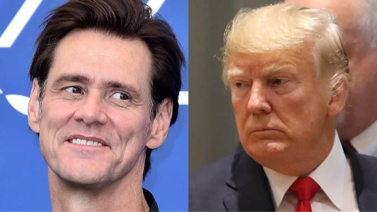 Caricaturas de Trump.: Jim Carrey expondrá en Los Ángeles sus dibujos y caricaturas de Trump