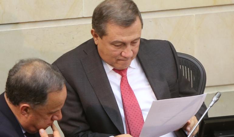 """Caso Malo respuesta del presidente del senado: """"Rechazo el llamado de la Corte Suprema al Senado"""": Ernesto Macías"""