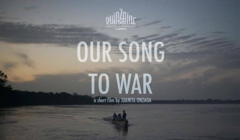 Our song to war: Cortometraje colombiano ganó la Estrella de Oro en el Festival 'El Gouna'