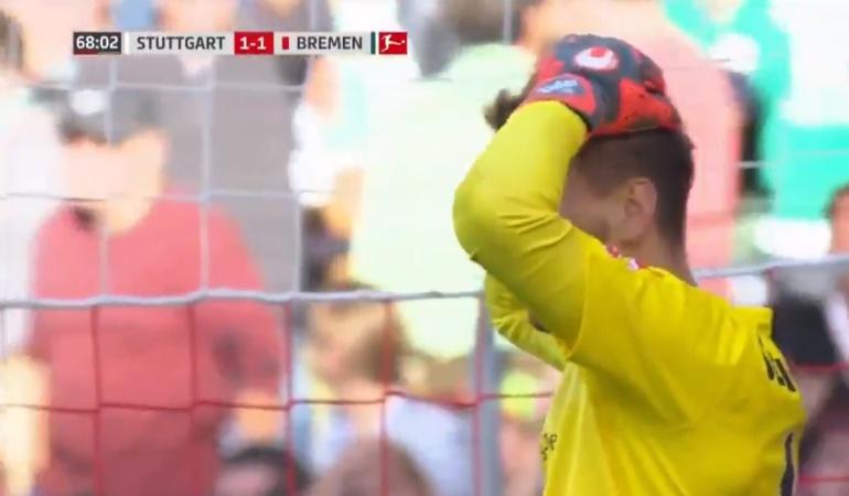 El blooper del 2018: no se pierda el autogol que se dio en la Bundesliga