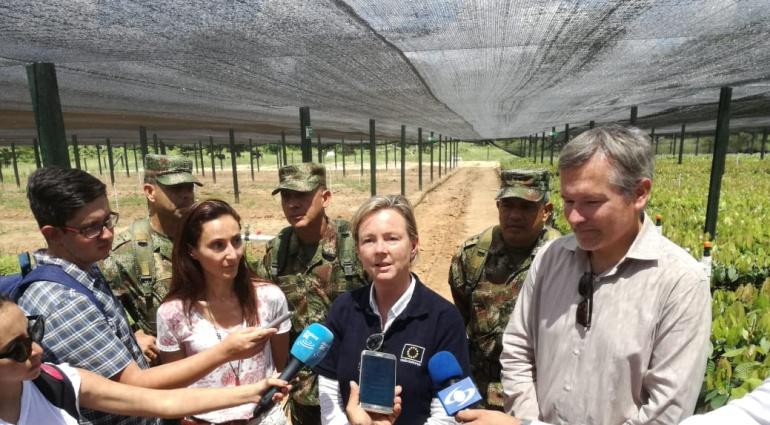 Proyectos para el desarrollo de las regiones: Guaviare estrena proyecto del Fondo Europeo para la Paz en Colombia