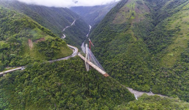 Puente Chirajara: Cuatro firmas internacionales pujan por construcción del puente Chirajara