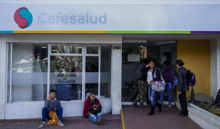 Cafesalud renuncia representante legal: Renunció el representante legal de Cafesalud