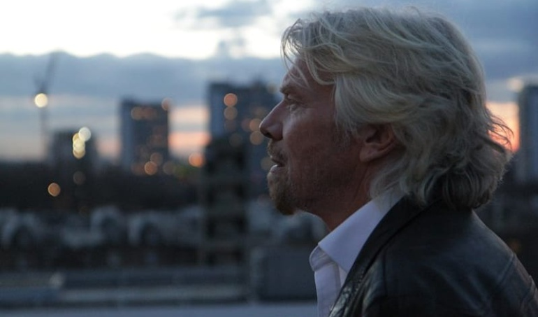 Fundador de Virgin Group, Richard Branson