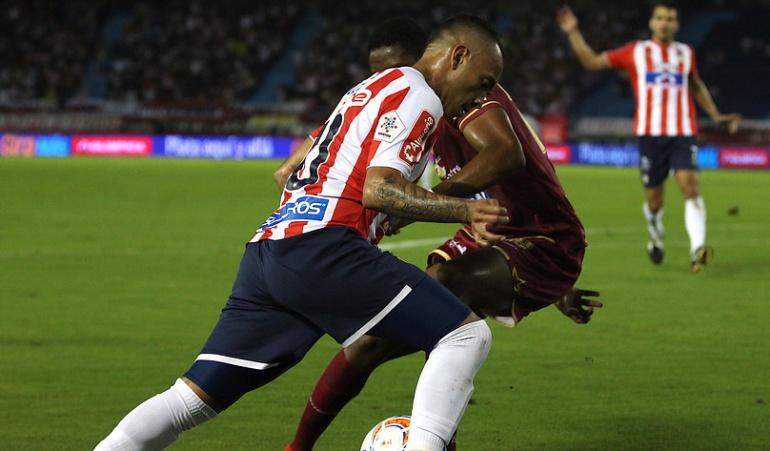 Junior 4-3 Tolima: ¡Hazaña tiburona! Junior remontó tres goles en contra y venció al Tolima