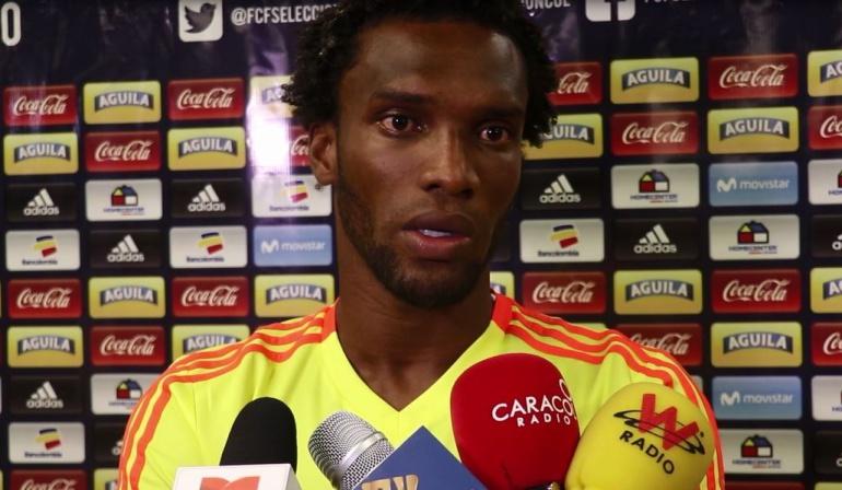 """didier moreno seleccion colombia: Didier Moreno: """"Mi juego es aguerrido, con personalidad y serio"""""""