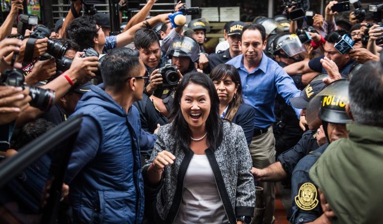 Captura Keiko Fujimori: Detienen a Keiko Fujimori por pedido de Fiscalía de Lavado de Activos