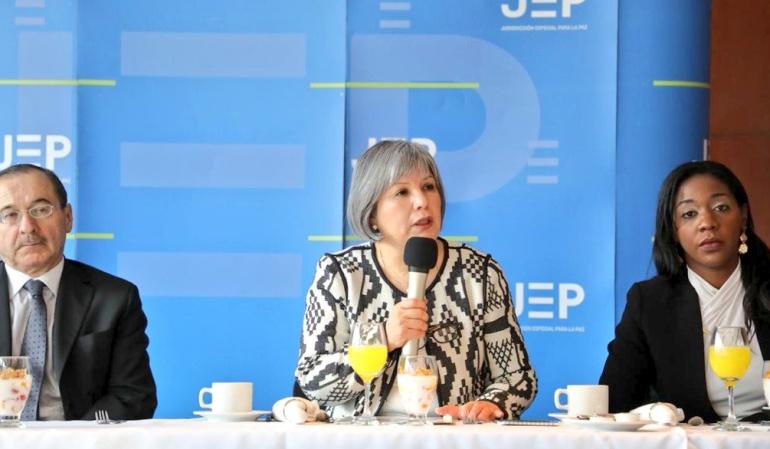 JEP advierte que sin los recursos completos no podrá llegar a las regiones