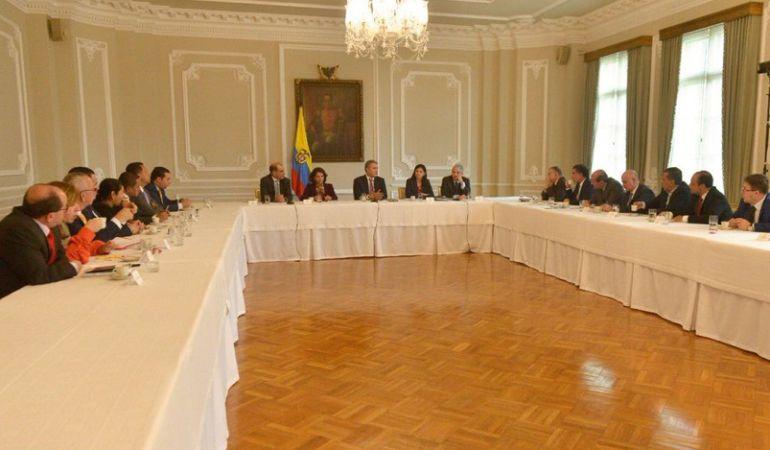 Senado Colombia: En Casa de Nariño se oficializa la división de La U
