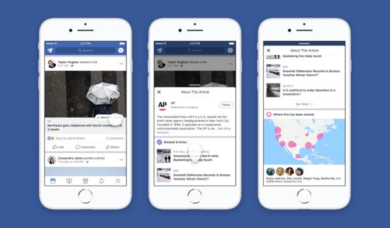 Facebook botón de contexto: ¿Qué es el nuevo botón 'contexto' de Facebook?