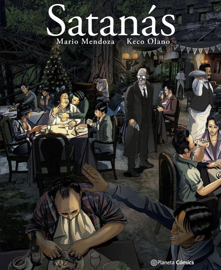 Mario Mendoza incursiona en la novela gráfica con su clásico Satanás