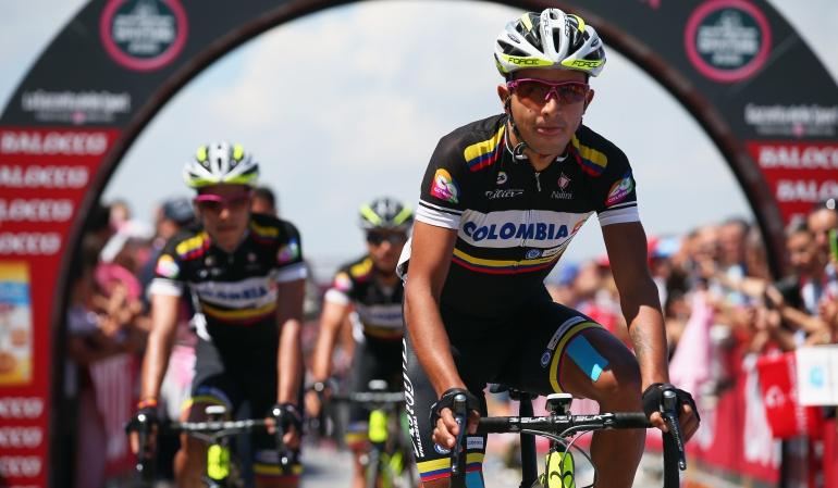 colombianos vuelta ecuador robinson chalapud: El colombiano Robinson Chalapud ganó la séptima etapa de la Vuelta Ecuador