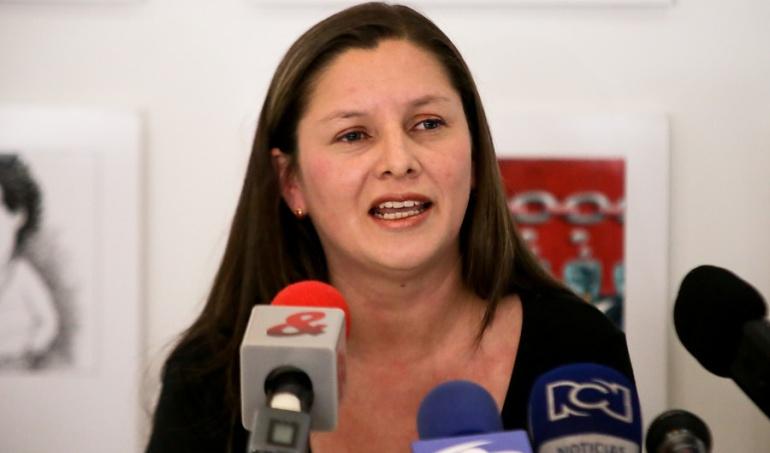 Yomari Ortegón, vicepresidenta del 'Colectivo José Alvear Restrepo'