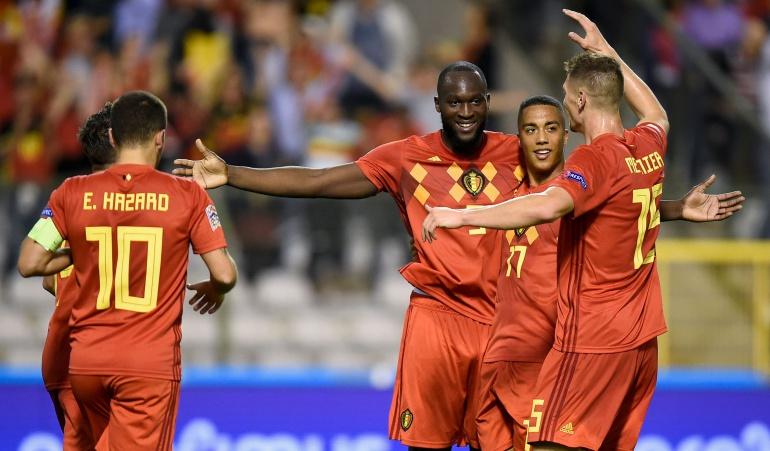 belgica goles lukaku suiza: Bélgica se impone a Suiza con un doblete de Lukaku