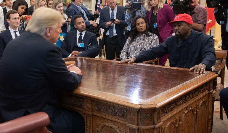 Los detalles sobre el encuentro entre Donald Trump y Kanye West
