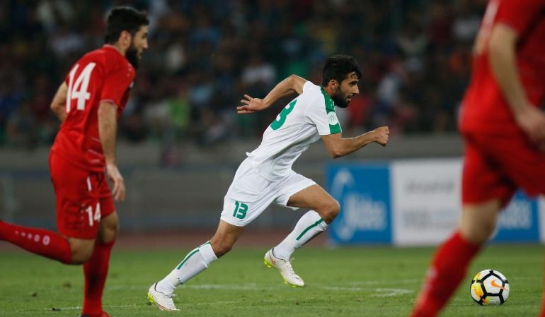Jugador de Irak Vs Argentina: Jugador de Irak supo de la muerte de su madre en pleno juego con Argentina