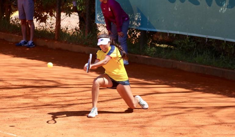 maria camila osorio tenis argentina juegos olimpicos juventud: María Camila Osorio ganó bronce para Colombia