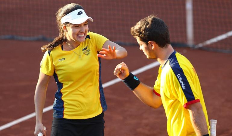 Nicolás Mejía y Maria Camila Osorio: Nicolás Mejía y Camila Osorio, por el oro en los Olímpicos de la Juventud