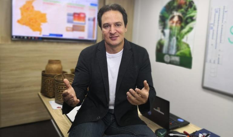 Director de la funcación 'Saving The Amazon', Gabriel Jaime Rico.