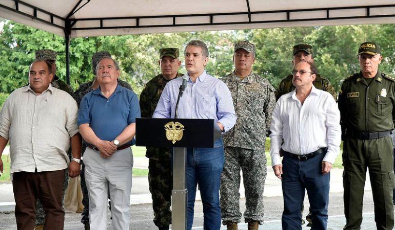 Caso Santrich: Duque: Caso de Santrich está en manos de la justicia y no del presidente