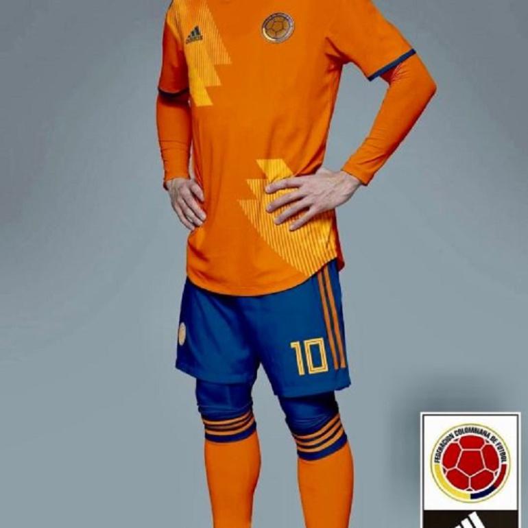 camiseta seleccion colombia  Filtran lo que sería la nueva camiseta ... 73aca56b2