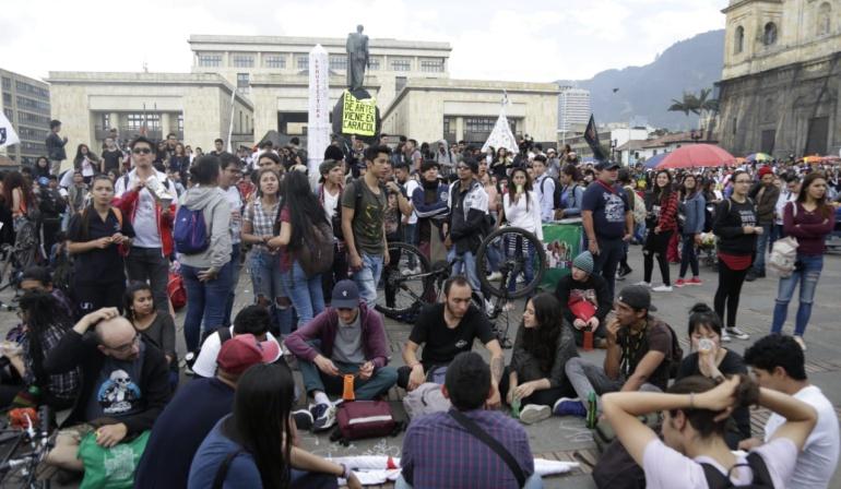 Paro colegios y universidades públicas: Organizaciones urgen respuesta de MinEducación tras paro ...