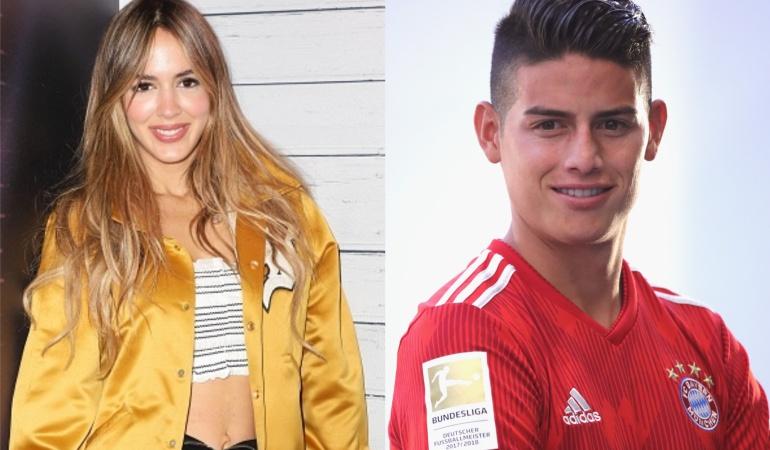 .¿James Rodríguez ya estaría comprometido con Shannon de Lima?.