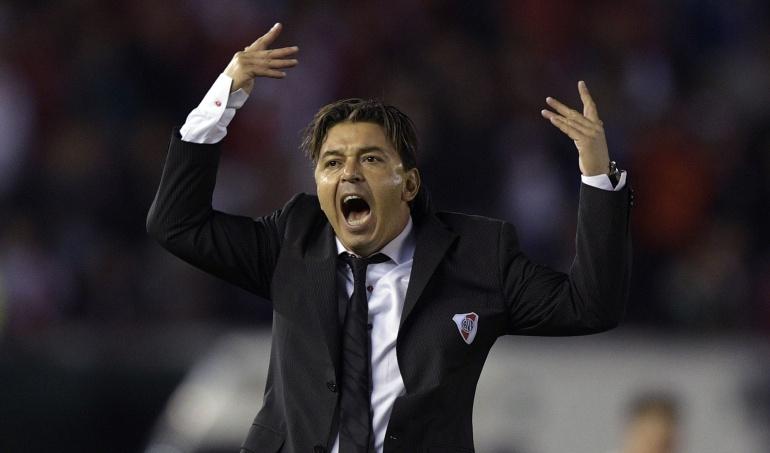 marcelo gallardo sancion copa libertadores river plate boca juniors: Conmebol castiga a Gallardo y lo priva de ingresar a los estadios