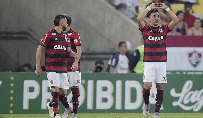 Fernando Uribe marcó gol: Sigue anotando: Uribe marcó gol en el empate de Flamengo ante Sao Paulo