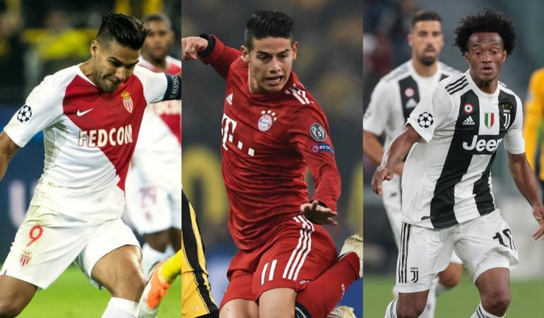 programacion partidos de champions jugadores seleccion colombia: Prográmese con los partidos de los jugadores de la Selección en sus clubes