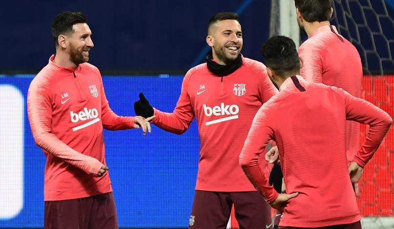 jordi alba robado barcelona cataluña: Roban la casa de Jordi Alba mientras prepara la Champions en Milán