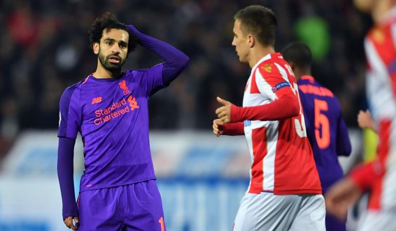 liverpool estrella roja champions league: ¡Sorpresa! Estrella Roja venció a Liverpool