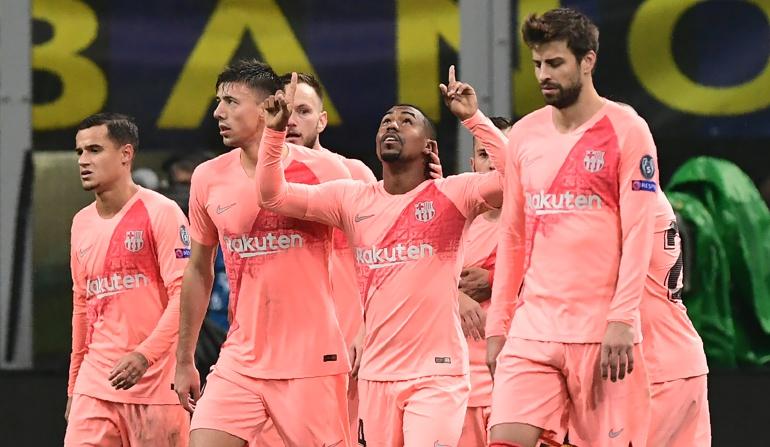 barcelona inter champions league goles en vivo resumen: Barcelona empató con Inter y se clasificó a octavos de final de Champions
