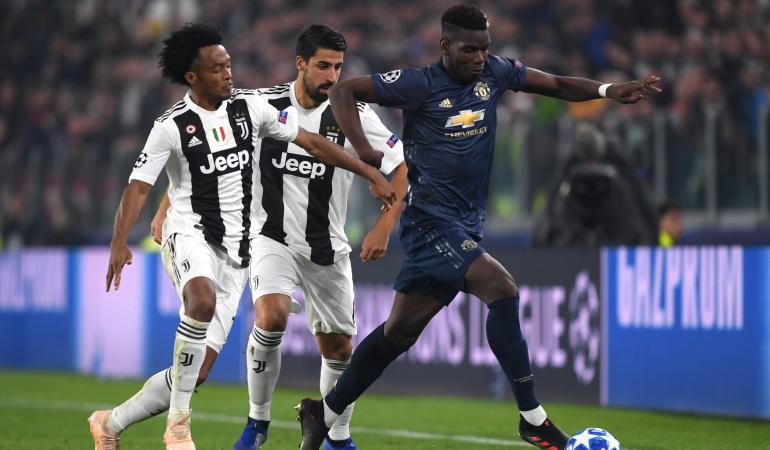 Juventus 1-2 Manchester United: Con Cuadrado, la Juventus cayó ante un valiente Manchester United