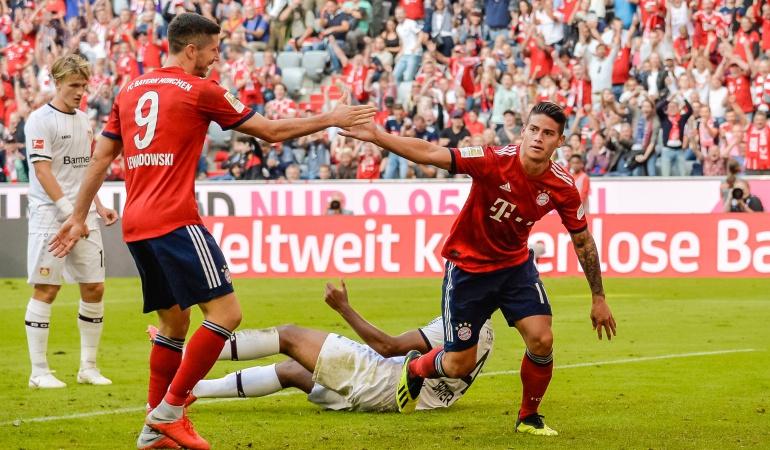 bayern munich james champions: Bayern Múnich cuida a James y venció al AEK Atenas
