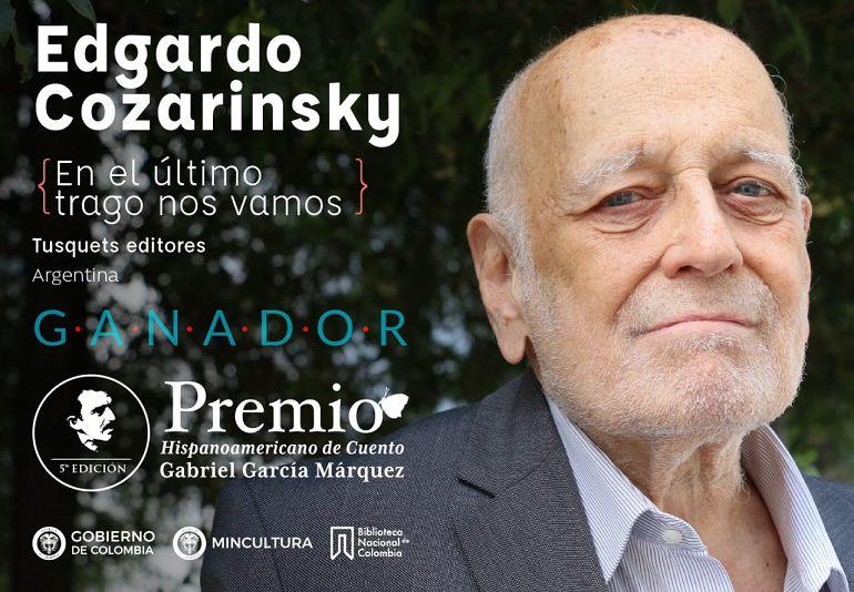 Edgardo Cozarinsky gana el Premio Hispanoamericano de Cuento 2018