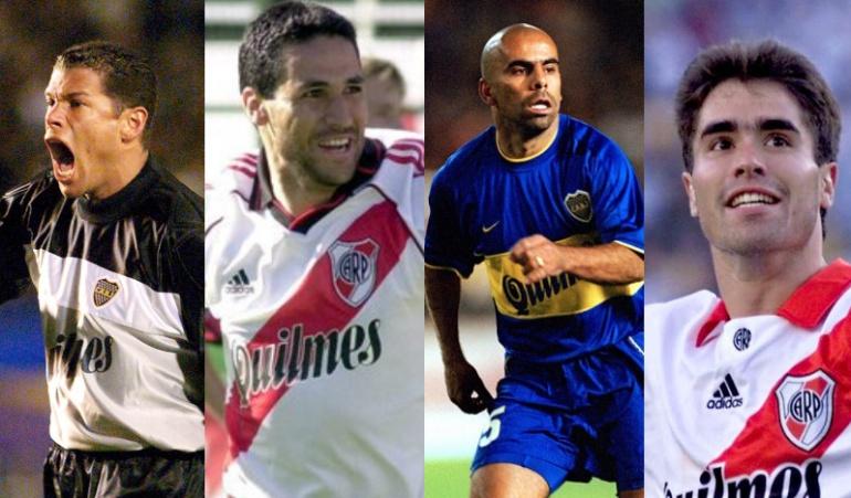 boca juniors river plate: El once histórico de los colombianos en Boca Juniors y River Plate