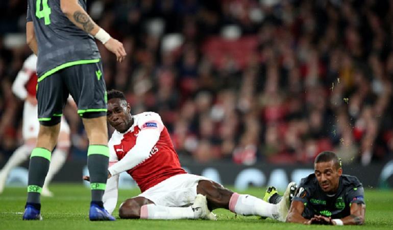 La escalofriante lesión de un jugador del Arsenal