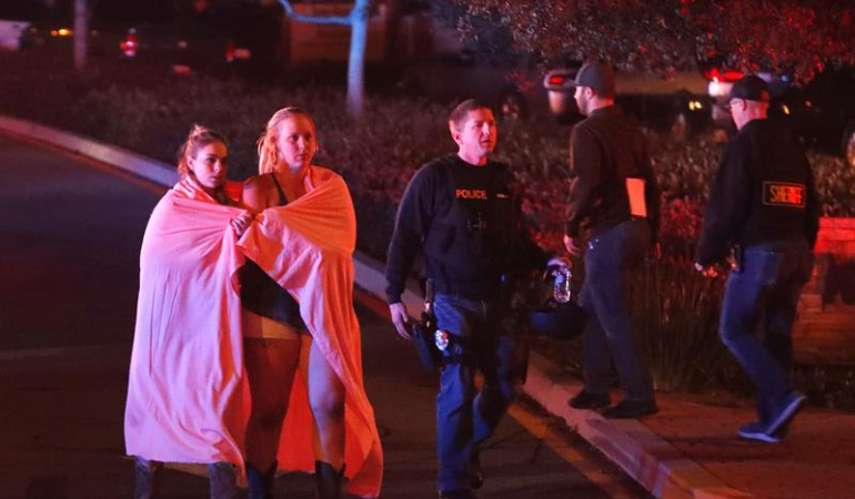 Tiroteo bar: Trump envió condolencias a víctimas del tiroteo