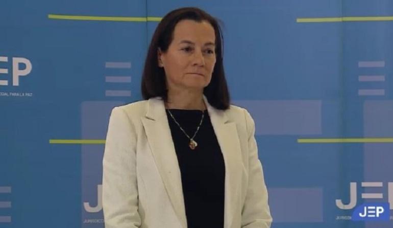 Clara Rojas relató los difíciles momentos de su secuestro ante la JEP
