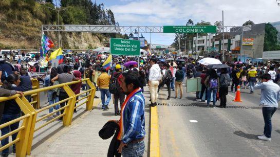 Disturbios y caos en movilidad dejan marchas estudiantiles