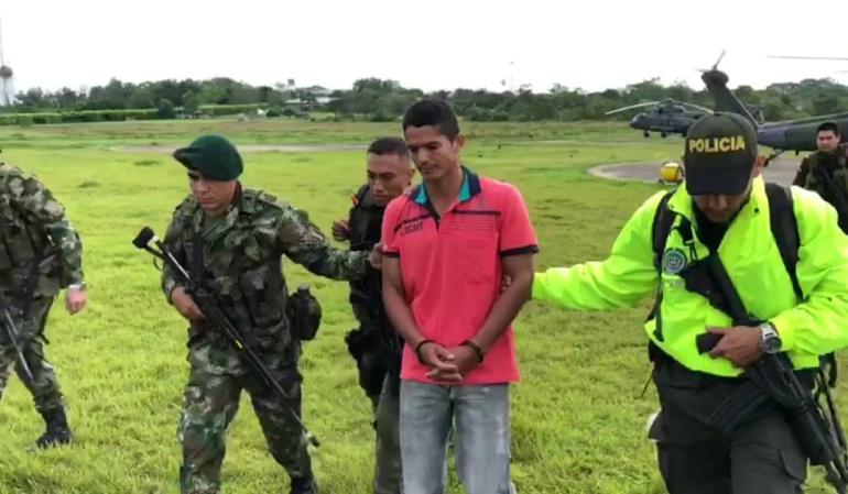 Fuerza Pública capturo a alias 'Guerrillo' en Guaviare