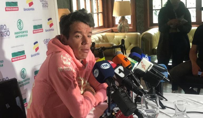 """Rigoberto Urán: Rigo: """"En colombia hay mucho talento, hay que meterle billete al deporte"""""""