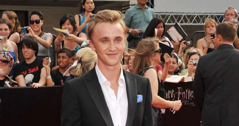 Así ha cambiado Tom Felton, actor de Draco Malfoy en Harry Potter