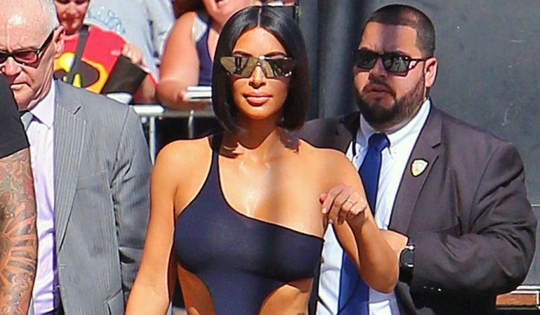 Kim Kardashian tuvo que abandonar su casa por culpa de un incendio