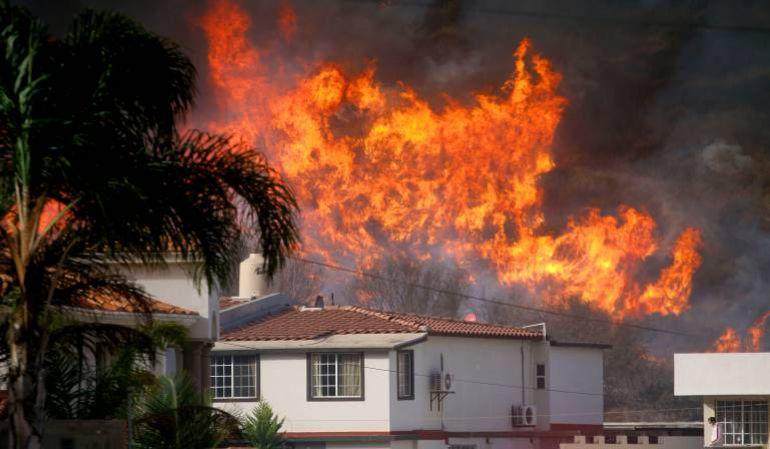 Incendio arrasa con 8.000 hectáreas de bosque en California, EE.UU
