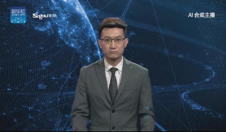 Presentadores Robots en China: ¿Presentadores artificiales en televisión?